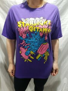 The-Starlight-Getaway-Purple-T-shirt-Alternative-Indie-Size-Large