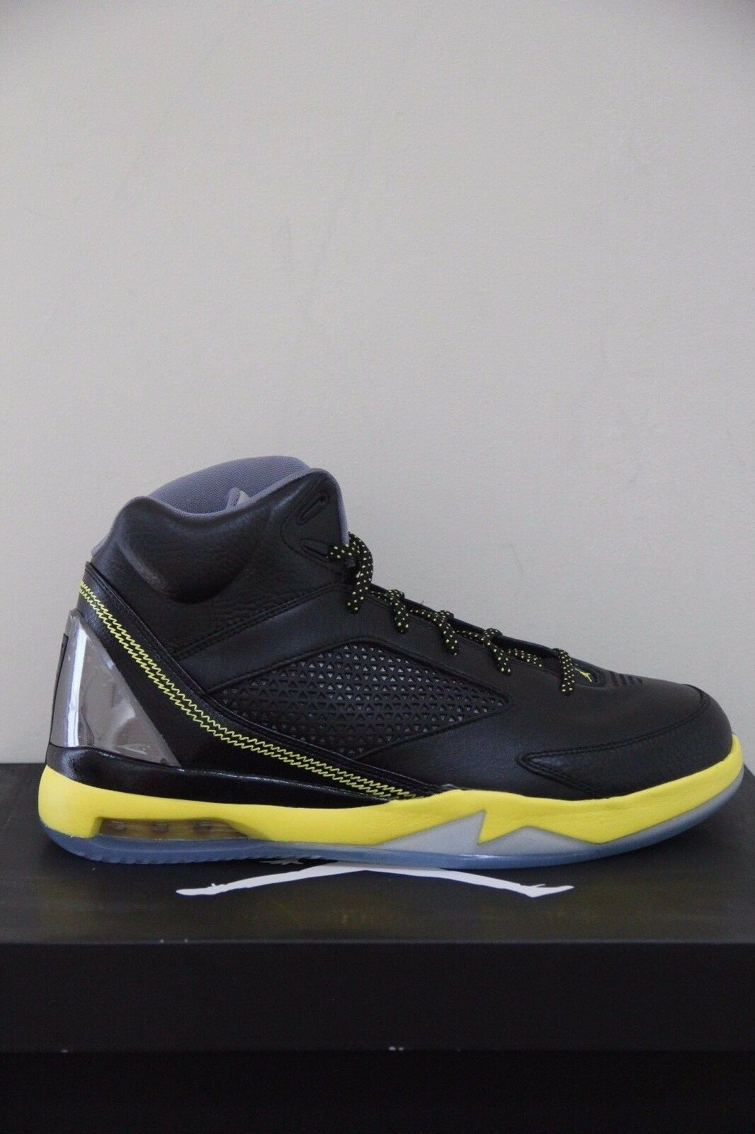 "Air Jordan Flight Remix ""Vibrant ""Vibrant ""Vibrant Yellow""  Size 11 NIB 9be273"