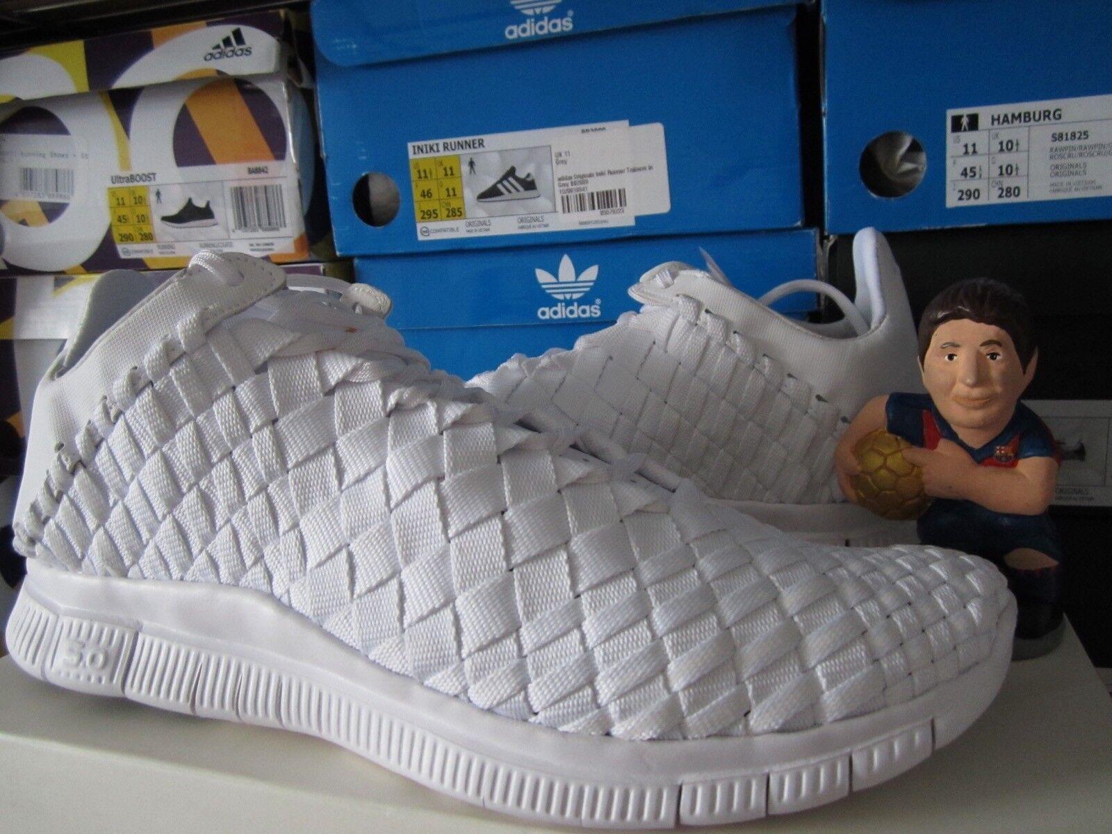 Nike Free Inneva Woven Tech SP White?705797-110 DS Size 11 Flyknit Primeknit