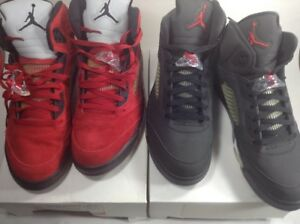 super popular 8e466 33522 Image is loading Air-Jordan-5-Retro-DMP-034-Raging-Bull-