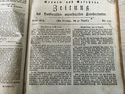 1813 139 / Gefechte Zoben Bober Zerbst Coswig / Unglück Stein Am Rhein Um Eine Hohe Bewunderung Zu Gewinnen Und Wird Im In- Und Ausland Weithin Vertraut.