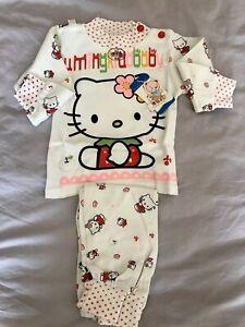 Baby-Girl-Dress-6-9-mesi-NUOVO-034-Hello-Kitty-039-Vestito-2-Pezzi-in-Set