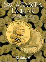 H.e. Harris - Sacagawea Folder Dollar 2, 2005-2008 P & D