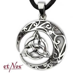 Echt-etNox-Keltischer-Knoten-Anhaenger-925er-Silber-Schmuck-Neu