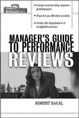 1 of 1 - The Manager's Guide to Performance Reviews-ExLibrary