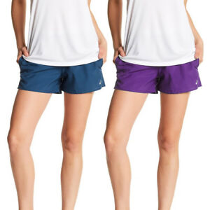 Asics-NEW-Solid-Women-039-s-Performance-Woven-Athletic-Shorts-30