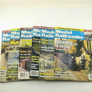 Model-Railroader-Magazines-From-2000-Lot-of-6-Model-Trains-Kalmbach-Publishing