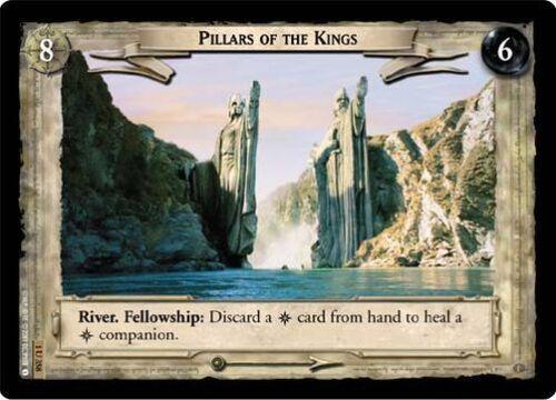 LoTR TCG FoTR Fellowship Of The Ring Pillars Of The Kings FOIL 1U358