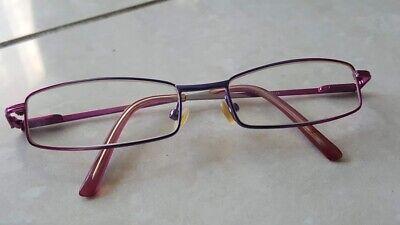 Brillengestell Pink/lila Bügel Flexibel Wasserdicht, StoßFest Und Antimagnetisch