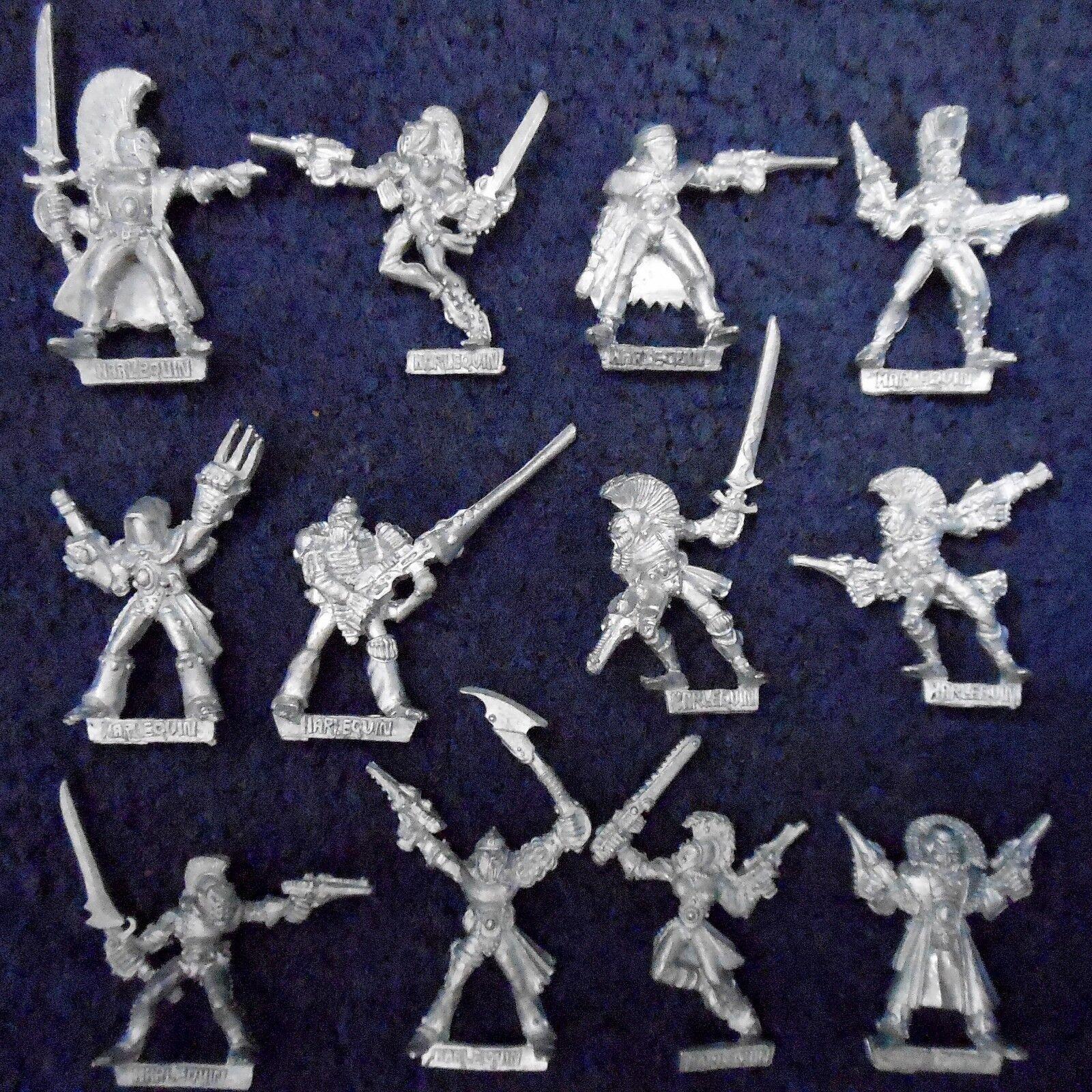 Harlequins 1988 Set B  Trouper Rogue Trader Eldar Harlequin Citadel Warhammer 40k  liquidazione