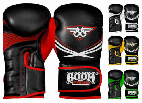 Rex Leather Pro Boxing Gloves MMA Fight Punch Bag Sparring Training Muay Thai