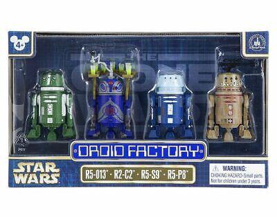 Disney Star Wars Droid Factory Christmas Edition R3-H17 Astromech Droid New NIC