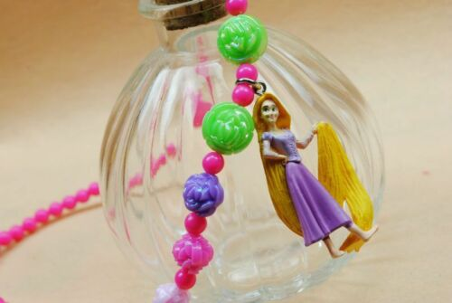 Girls kid Child Princess Snow white Repunzel Ariel Cinderella Pendant Necklace