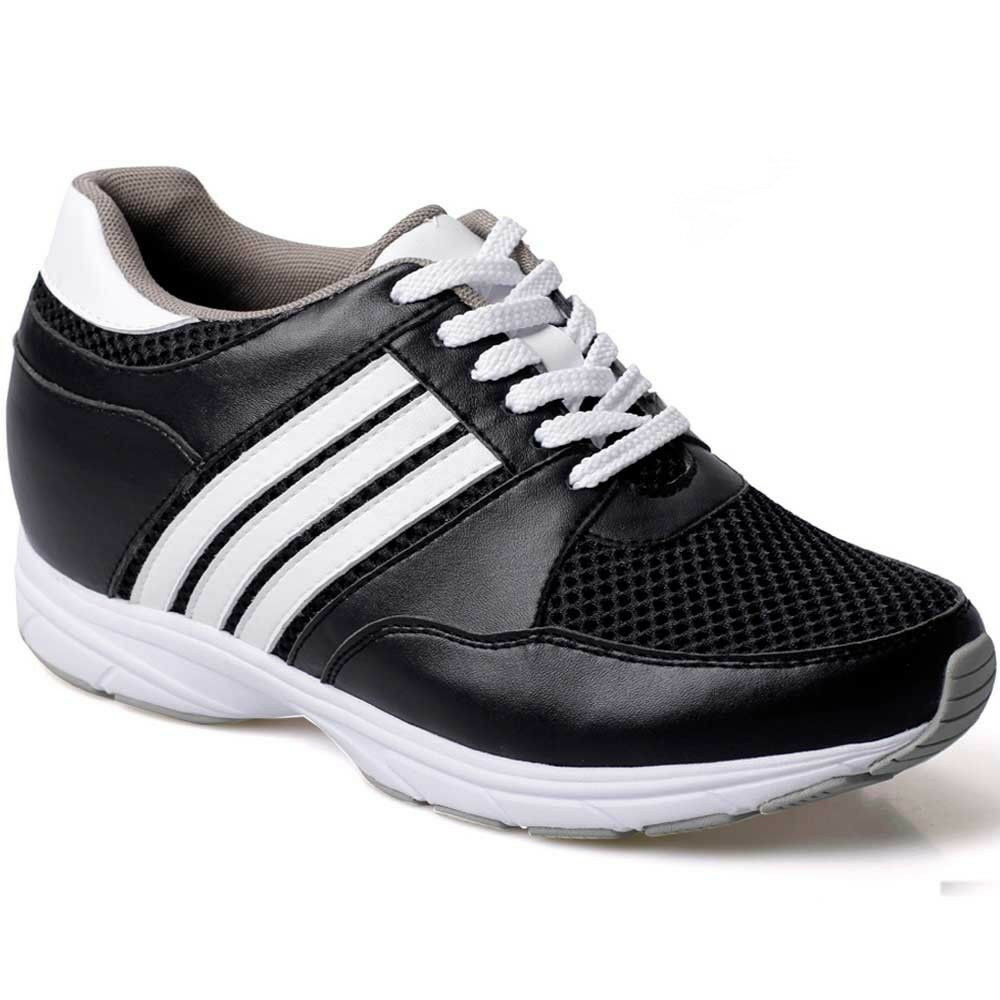 CHAMARIPA Elevator shoes 3.35'' Tall Men shoes Hieght Increasing Insoles shoes