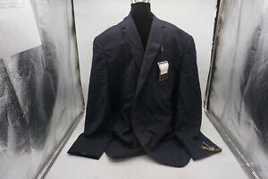 Pierre-Laurant-Suit-Jacket-Men-039-s-Sz-52-in-Navy
