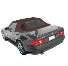 Mercedes R129 SL Convertible Soft Top 1990-2002 BROWN Stayfast Cloth HAARTZ