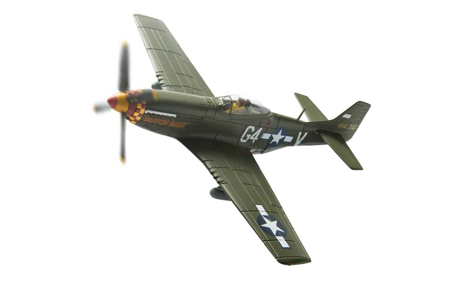CORGI 1 72 AA27701 P-51D MUSTANG, LT.JULIAN H BERTRAM 'BUTCH BABY' NEW (UP)