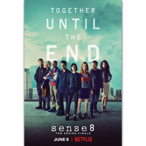 Art Poster Sense8 The Series Finale 2018 TV Series Show Season 14x21 24x36 Y1533