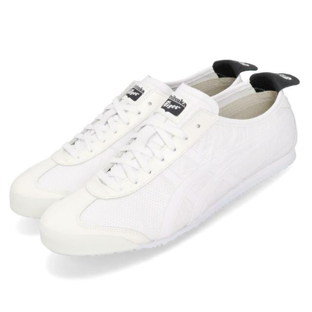 check out 217d3 d5b52 Asics Onitsuka Tiger Mexico 66 White Black Men Women Unisex Shoes  1183A443-100