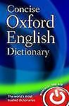Concise Oxford English Dictionary: 11th Edition Revised 2008  Hardcover