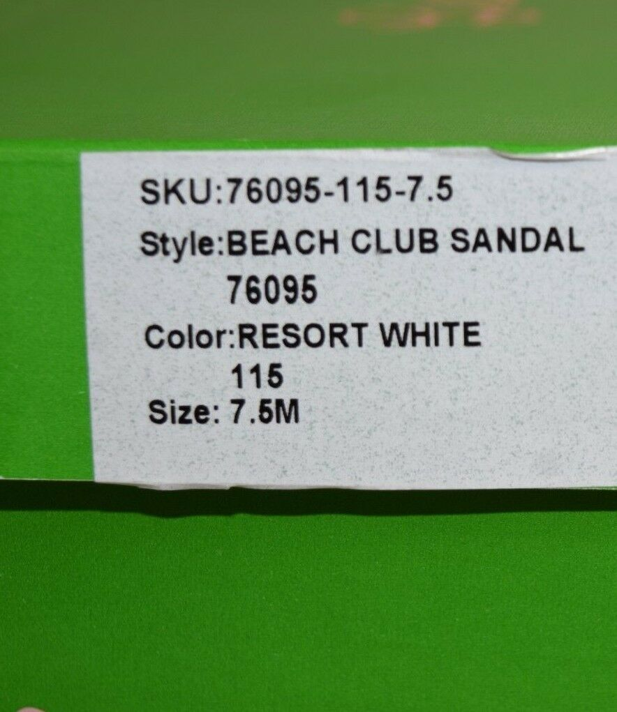 New Lilly Lilly Lilly Pulitzer Resort bianca Beach Club Beaded Sandals oro Leather Crystals 308fe8