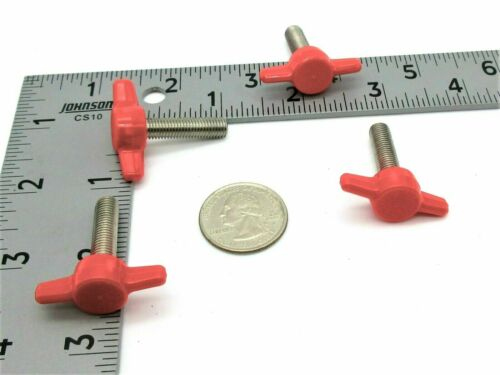 "5//16/""- 24 Fine Thread Various Sizes /& Lengths. SS Thumb Screws Wing Knob"