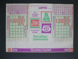 Lotto Systemspiel