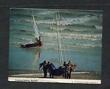 View of a Saling Boat Coming Ashore, Bexhill. Dated 1988.