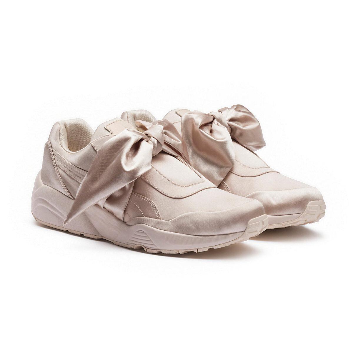 Puma x fenty arco scarpe rosa tinta rhianna formatori - spese postali