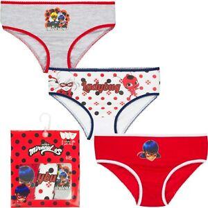 Miraculous Ladybug 3-er Pack Slips