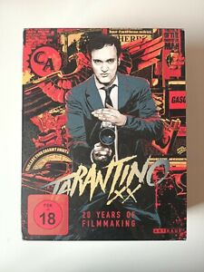 TARANTINO XX: 20 YEARS OF FILMMAKING | collector box bluray - mondo artwork OOP