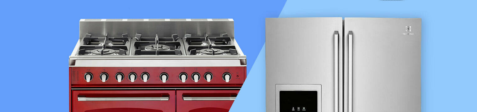 Up to 60% off major appliances.