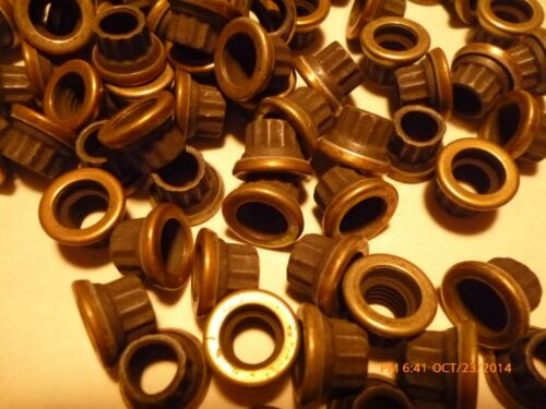 """locking 28tpi w//captive washer 12 point aircraft nuts 60 pieces 1//4/"""""""
