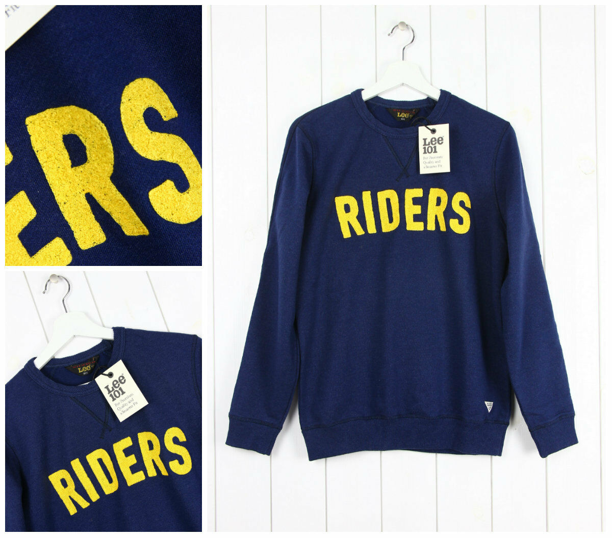 NEW LEE 101 ORIGINAL RIDER  SWEAT SWEATSHIRT
