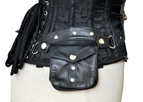 et 7xl sous brocart véritable buste 2x lacets Corset acier noir de ~ os cuir waOqnXnSR