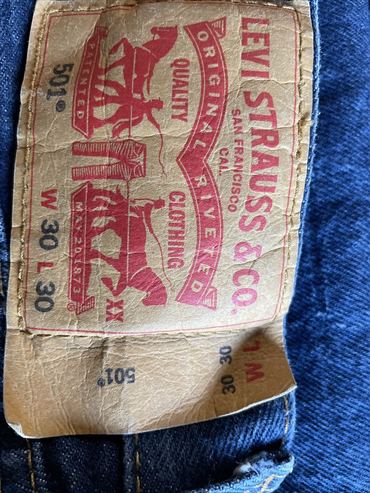 levis 501 made in usa - image 3
