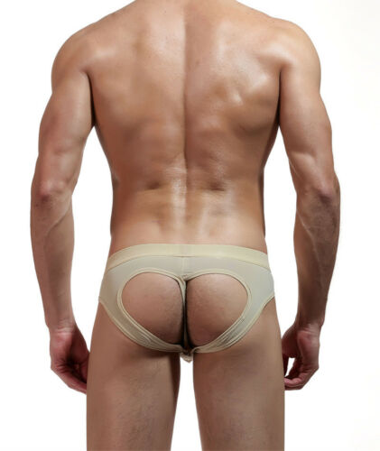 1-8 Lot Mens Underwear Boxers Briefs Open Butt Jockstraps Tanga Underpants Trunk