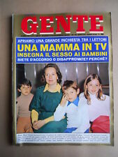 GENTE n°17 1976 Speciale su Franco Gasparri che si racconta  [G685B]
