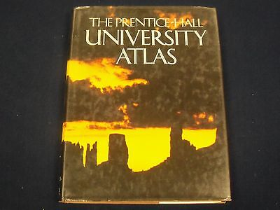 1984 THE PRENTICE HALL UNIVERSITY ATLAS - GREAT MAPS - KD 2967