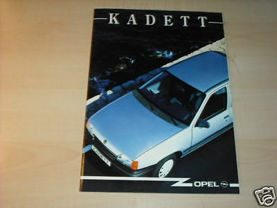 10678) Opel Kadett Portugal Prospekt 199? GläNzend