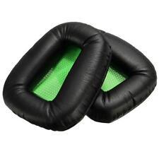 Green/Black Ear Pads Cushion Mat For Razer Electra Gaming Pc Music Headphones