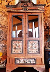 Cabinet-Glas-Wardrobe-Showcase-Baroque-Rococo-Empire-Louis-XV-XVI-Ancient