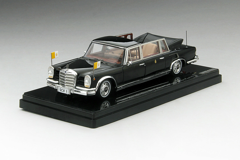 Mercedes Benz 600 Pullman landaulet Pope Paul VI 1965 TSM True Scale resin 1 43