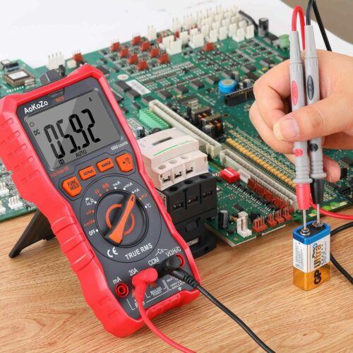 Multimètre Numérique Portable Automatique Testeur Electrique Professionnel 1000V
