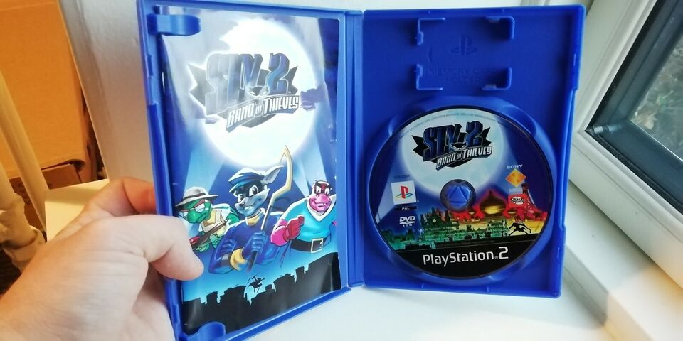 Sly Cooper 1-2-3, PS2