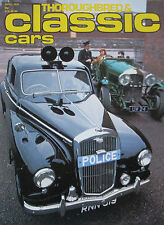 Classic Cars 04/1979 featuring Wolseley Six Eight, Terrier FJ, Vauxhall Firenza