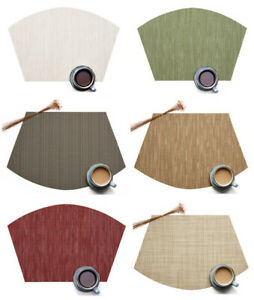 Placemats-for-Round-Table-Set-of-6pcs-Wedge-Kitchen-Table-Mats-Us-Shipping