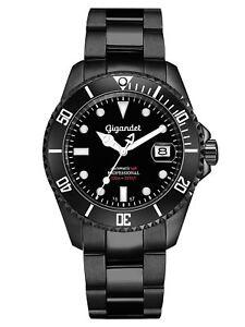 Gigandet-SEA-GROUND-Automatik-Herrenuhr-Taucher-Edelstahl-Schwarz-G2-003-NEU
