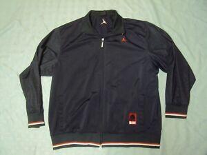 wholesale dealer 0f6ce d2202 Image is loading Air-Jordan-Spizike-Track-Jacket-Adult-Size-XXL-