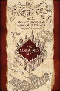 Harry Potter- Marauder'S Map Poster Print, 24x36